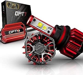 OPT7 FluxBeam 9007 LED Headlight Kit w/Clear ARC-LENS Beam Bulbs & TIPM Resistor Kit - 60w 7,000Lm 5K OEM Bright White CREE– for Dodge, Ram, Jeep, Chrysler