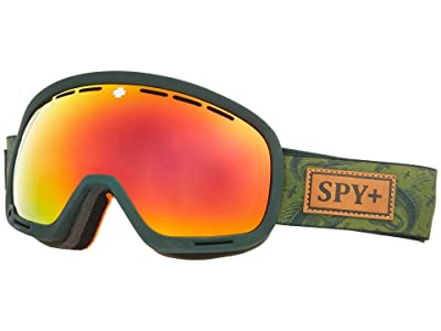 Spy Optic Marshall (Gone Fishing HD Plus Bronze w/ Red Spectra Mirror) Snow Goggles