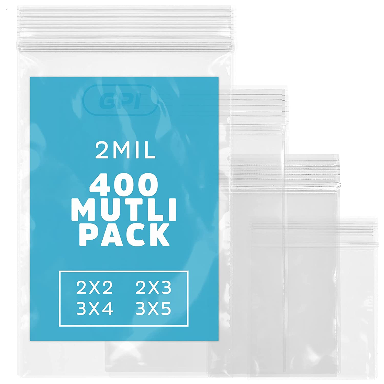 Assorted Clear Plastic Zip Bags - GPI Albuquerque Los Angeles Mall Mall Pack 2 4 400 Sizes mil