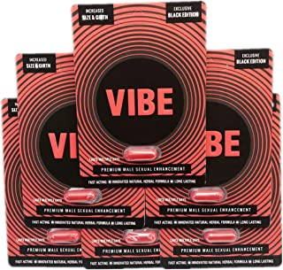The Original Black Red Vibe Premium Energy Enhancement Performance Booster Pills (6)