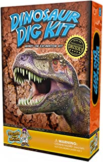 Discover with Dr. Cool Dinosaur Dig Kit - Excavate 3 Genuine Dino Specimens!