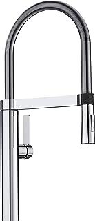 Blanco 铂浪高 CULINA-S 可旋转单把水龙头 精致外观/灵活连接软管 镀铬/高压