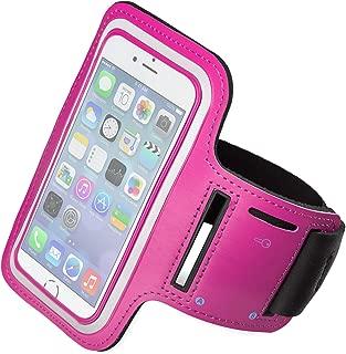 boldR® Funda Deportiva para iPhone 6 Plus/iPhone 6s Plus. Correa/Banda de Brazo para Correr o Hacer Deporte. Color Rosa.