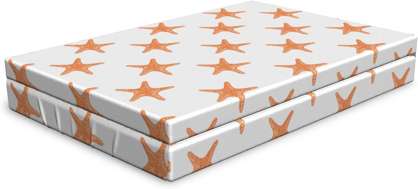Ambesonne Super Special SALE held Our shop most popular Starfish Dog Bed Graphic Seaso of Summer Illustration