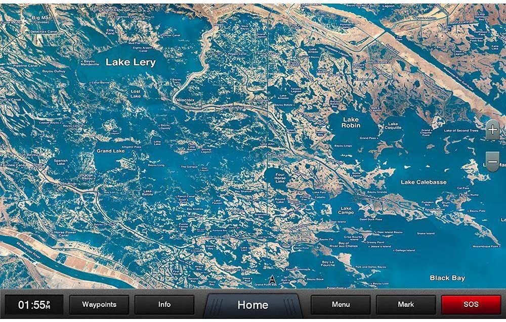 Garmin Standard Mapping - Louisiana East Classic microSD/SD Card [010-C1165-00]