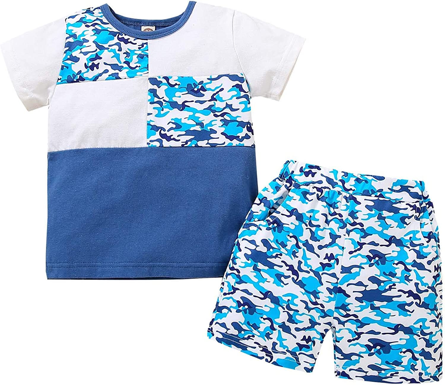 Autumn Winter Toddler Boys Clothes Set Camouflage Print Max 45% OFF Recommendation T-Shirt