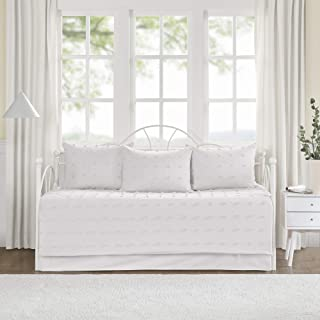 Urban Habitat Brooklyn Cotton Jacquard Daybed Set Ivory Daybed