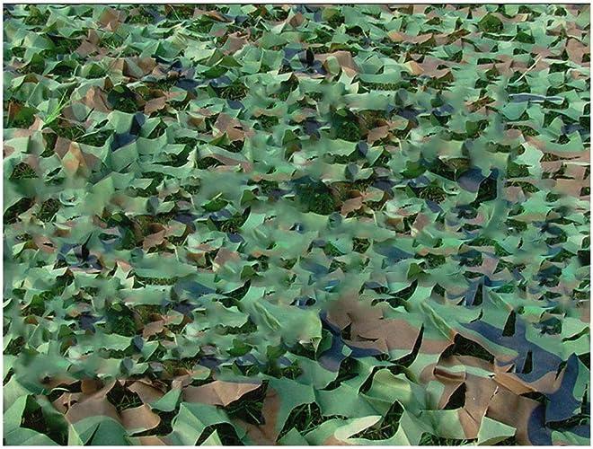 WNpb Filet de Camouflage de Jungle, Filet de Camouflage, Auvent de Prougeection Solaire, Camping Spécial Woodland Garden Décoration Store Restaurant Famille Fête à Thème (Taille   15x15m)