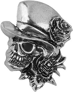 Huyizhi Brosche Pin Dekoration, Schädel Brosche Halloween Brosche Pin Broschen für Frauen, Anzüge für Party Urlaub Hochzeit