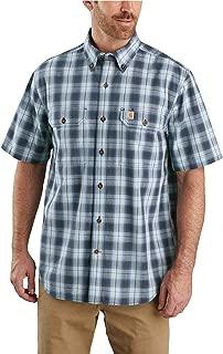 Carhartt Men's Original Fit Short Sleeve Plaid Shirt