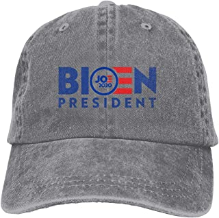 Joe Biden Jeans Cap Mens Womens Classic Adjustable Polo Style Dad Hats