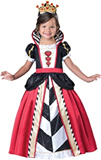 red queen toddler costume