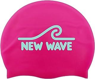 New Wave Swim Cap - Silicone Swim Cap Swim Buoy