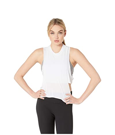 ALO Cool Elements Tank Top (White) Women