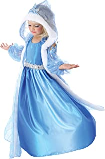 Girls Icelyn Winter Princess Kids Child Fancy Dress Party Halloween Costume