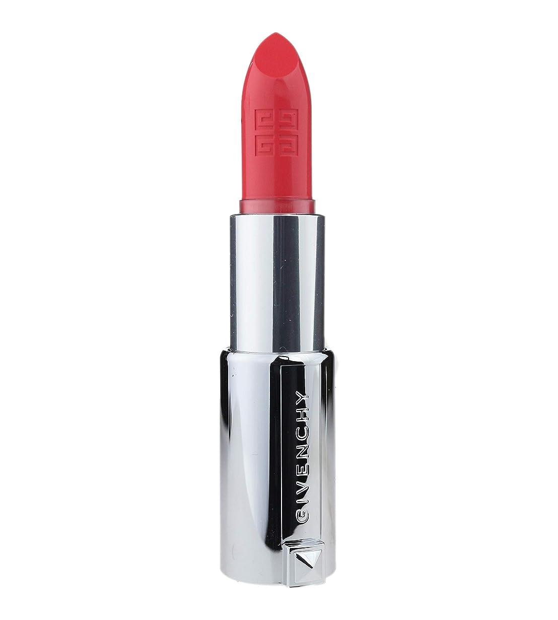 従来の些細理容師ジバンシィ Le Rouge Intense Color Sensuously Mat Lipstick - # 324 Corail Backstage (Genuine Leather Case) 3.4g/0.12oz並行輸入品
