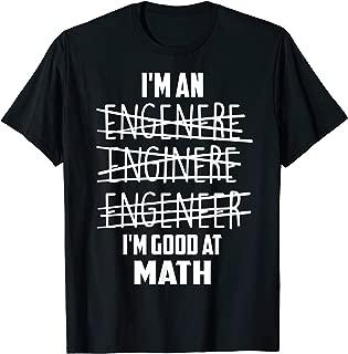 Best im an engineer tshirt Reviews