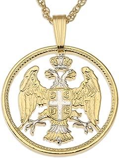 serbian eagle necklace