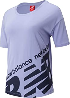 New Balance Women Nb Athletics Classic Boyfriend Tee Top