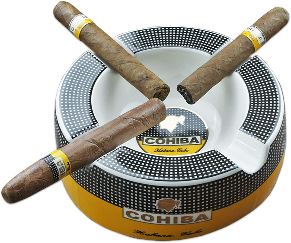 Cigar Outdoor Ashtrays Genuine Free At the price Shipping for Big Patio Round 8