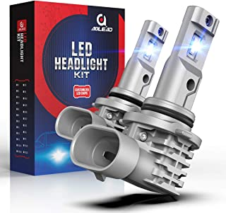 AOLEAD 9006 LED Headlight Bulb HB4 50W 6500K Cool White Fanless Conversion Kit All in One