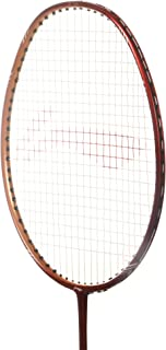 KDV Li Ning Badminton Racket G-Tek GX Series Player Edition Light Weight Carbon Graphite Shaft 80+ GMS with Full Carrying Bag Cover