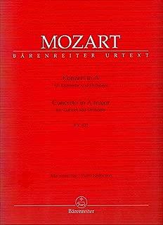 MOZART - Concierto para Clarinete (K.622) para Clarinete en La y Piano (Urtext) (Giegling)