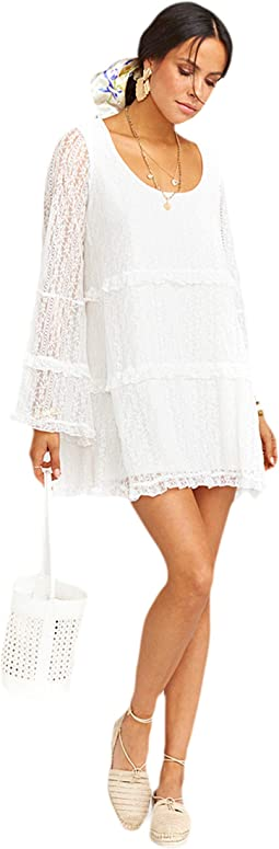 Rodeo Floral Lace White