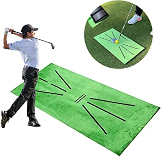 Sponsored Ad - W WHEEL UP Newest Golf Training Mat for Swing Detection Batting Mini Golf Practice Training Aid Game, Porta...