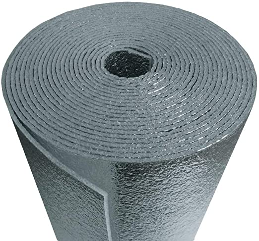 Us Energy Products 16 x 50 White Double Bubble Reflective Foil Insulation Thermal Barrier R8