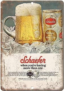 Schaefer Beer Baltimore Vintage Ad 10