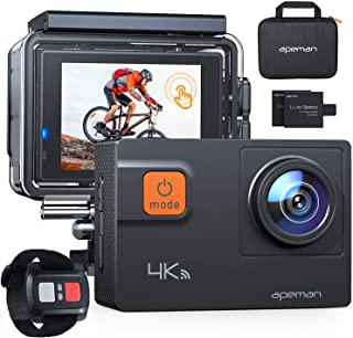APEMAN Action Camera A87,Ultra 4K 60FPS WiFi 20MP HD Underwater Waterproof 40M Sports Camcorder with 170 Degree EIS Advanc...