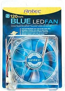 أنتيك 120MM الأزرق مروحة حالة مروحة (شفاف)