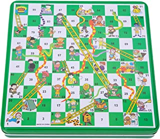 Magnetic Snakes and Ladders Board Game Set Toys for Kids Family Fun Game Toys
