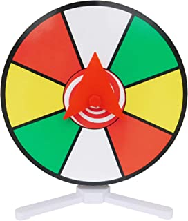 "Prize Wheel 12"" Color Dry Erase Face Spinner for Table Top"