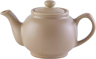 Price & Kensington Matt Taupe 2 Cup Teapot