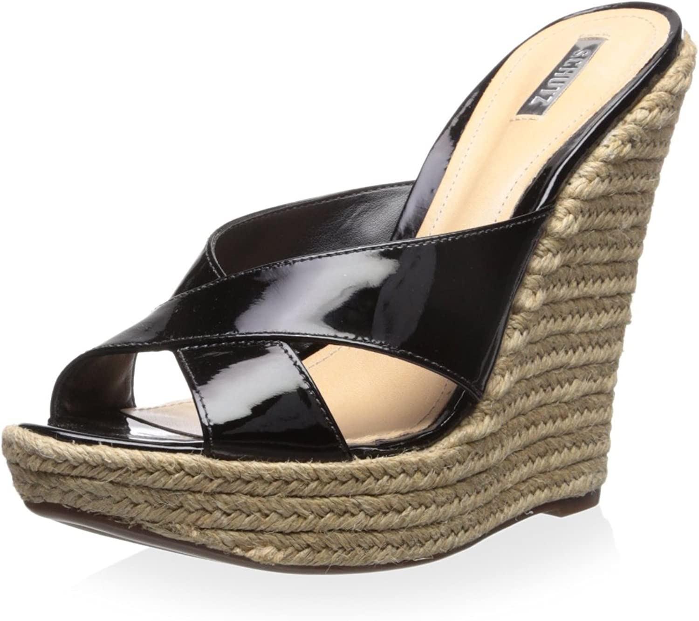 Schutz Women's Slide Platform Wedge Sandal