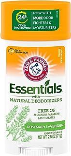 Arm & Hammer Essentials Deodorant, Fresh, 2.5 Ounce (Pack Of 6)