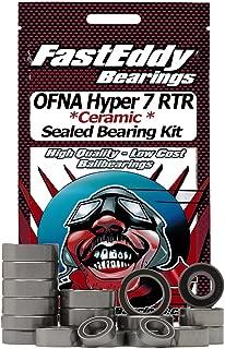 OFNA Hyper 7 RTR Ceramic Rubber Sealed Ball Bearing Kit for RC Cars