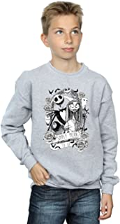 Disney niños Nightmare Before Christmas Simply Meant To Be Camisa De Entrenamiento