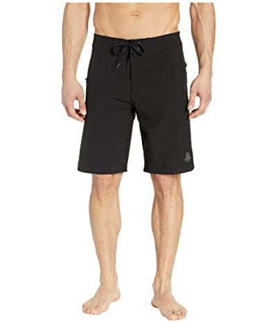 Prana Fenton 10 Boardshorts (Black) Men