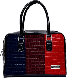 Pinkish Leatherette Handbags For Women's Ladies PK-Daily-023 PK-05 Cream