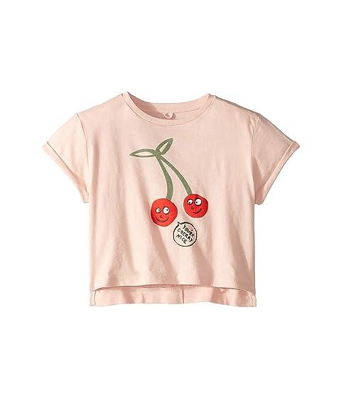Stella McCartney Kids Cherry Short Sleeve Tee (Toddler/Little Kids/Big Kids)