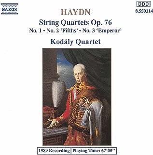 Best haydn string quartet op 76 no 5 Reviews