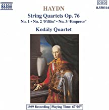 haydn string quartet no 1