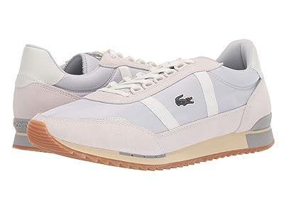 Lacoste Partner Retro 319 1 (Light Grey/Off-White) Men