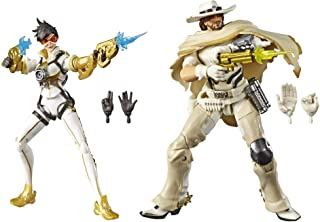 """Hasbro Overwatch Ultimate Series Tracer & McCree Fual Pack 6"""" Collectible Action Figures"""