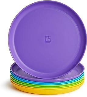Munchkin Multi Toddler Plate, 8 Pack