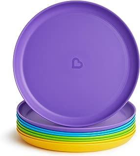 Munchkin Multi Toddler Plates, Pack of 8