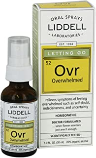 Liddell Homeopathic Letting Go Overwhelmed 1 Oz